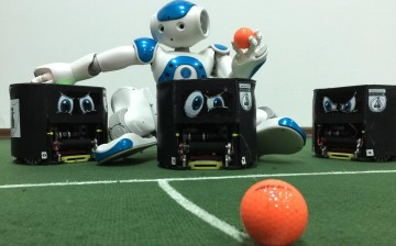 Neuıslanders Robot Futbol Takımı Dünya Kupası İçin Ada'dan Ayrıldı