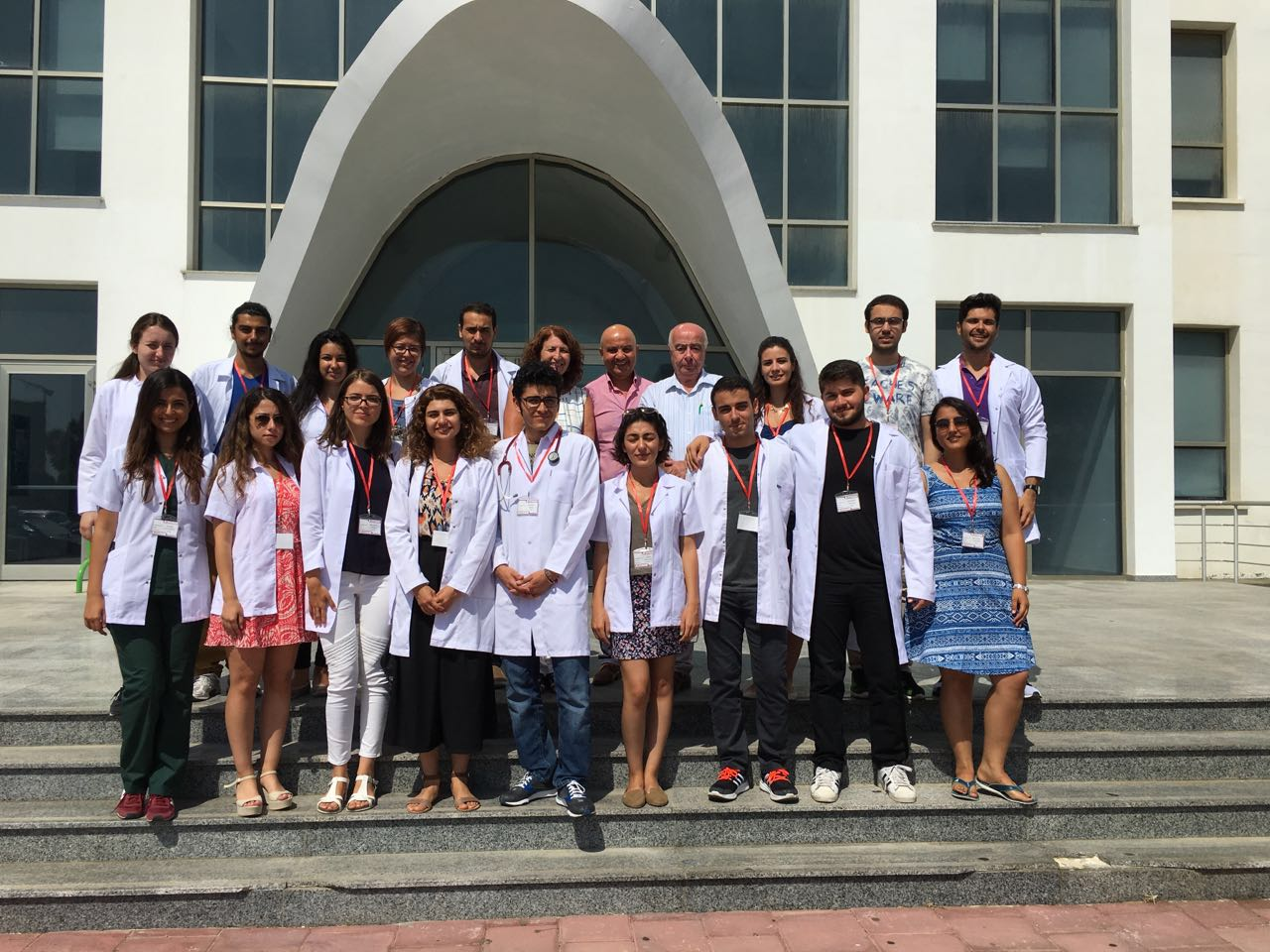 Doctor candidates from Turkey are at the Near East University