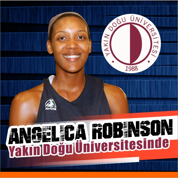 Angelica Robinson joins Near East University