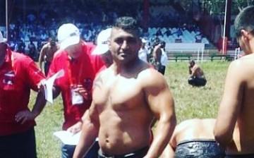 YDÜ'lü Güreşçiler Kırkpınar'da Güreşti