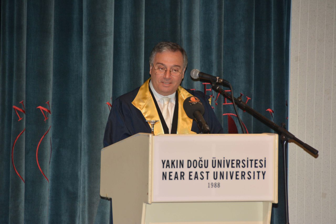 Near East University Faculty of Pharmacy graduates received their diplomas