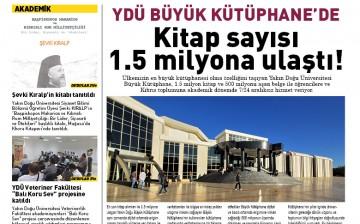 Yakın Doğu Üniversitesi, Üniversite Gazetesi 141. Sayısı