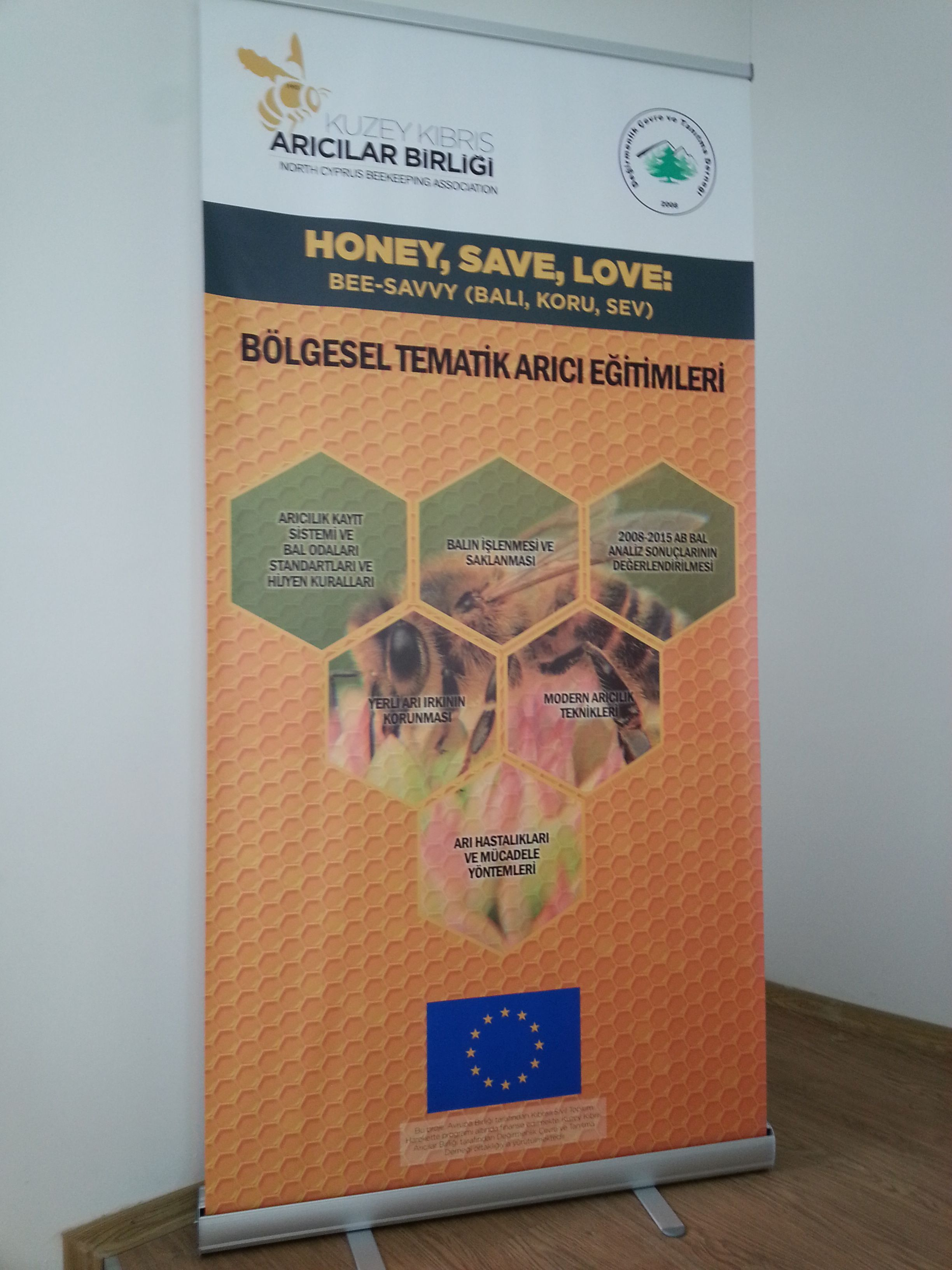 Academics from Near East University Faculty of Veterinary Medicine participated in the project on 'Conserve and Love Honey'