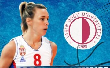 Nevena Jovanovic Yakın Doğu Üniversitesi'nde