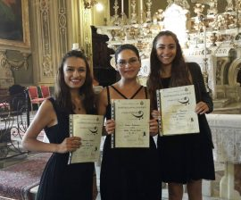 Near East University Music Education Graduate Students Participate in Training in Italy