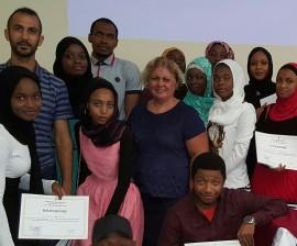 Yakın Doğu Üniversitesi'nde Türkçe Yaz Okulu Eğitim Programında Sertifikalar Verildi