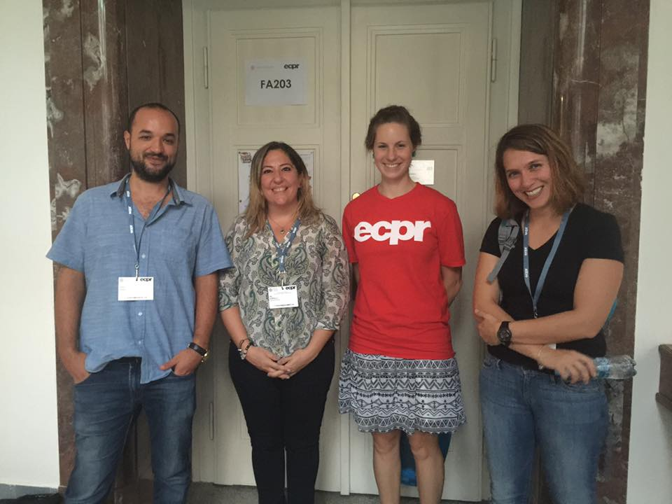 Near East University takes place in ECPR, one of Europe's most prestigious political science conferences