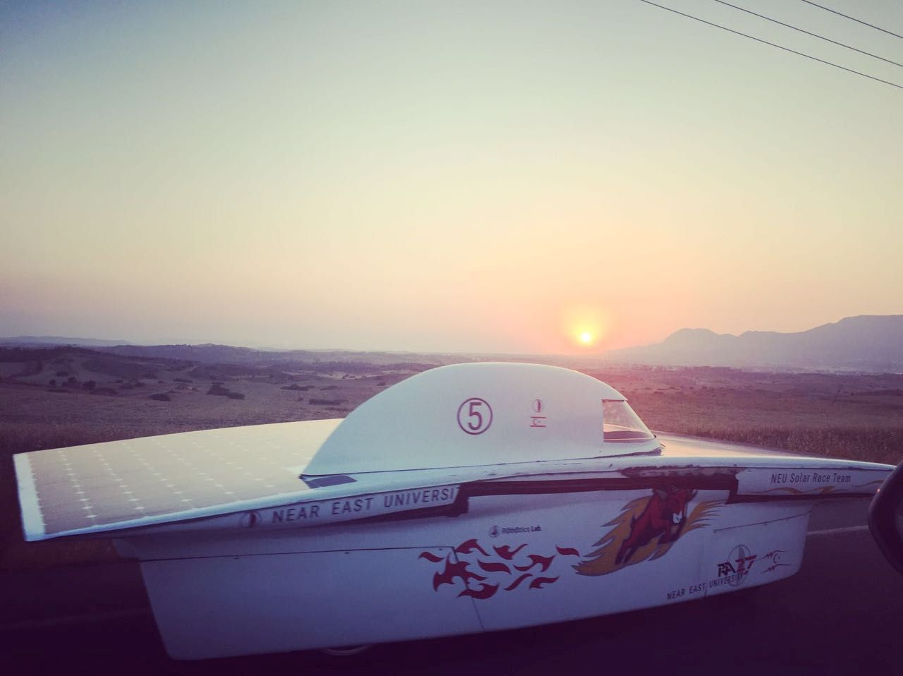 The Solar Powered Vehicle of Near East University, RA27 is soon to debut in South Africa