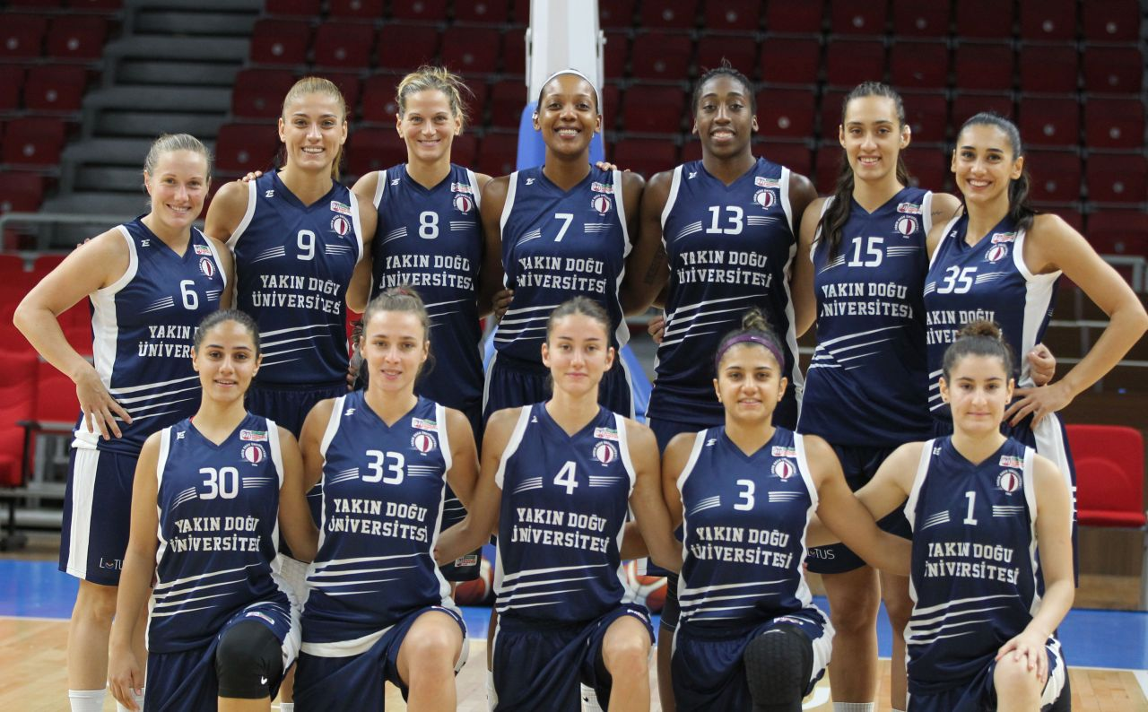 Near East University's big blow at Abdi İpekçi: Near East University: 82-Galatasaray:65