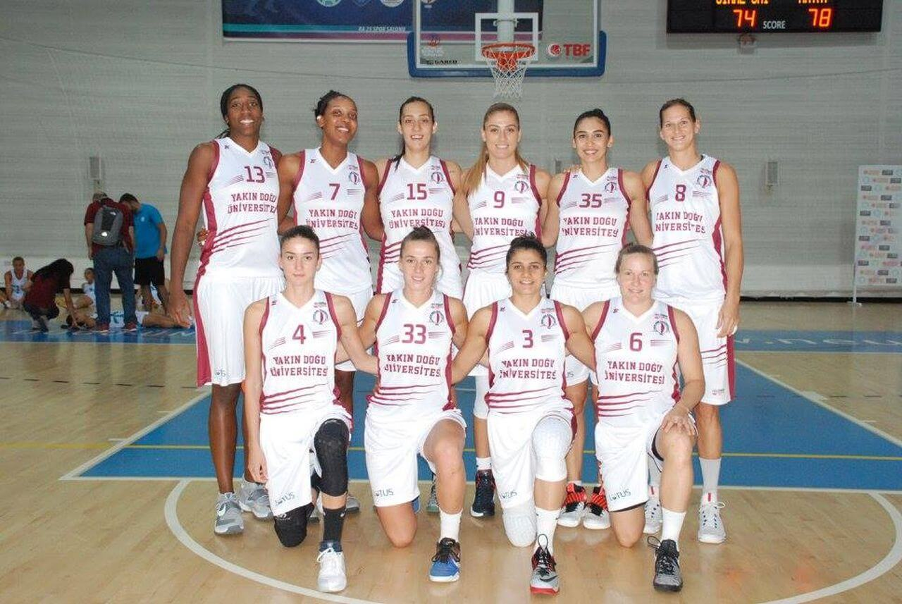 Near East University blew like a storm at the Eurocup Challenge….. Near East University: 82-İstanbul University: 53