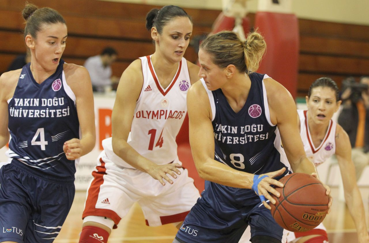 Near East University's Historic Victory….. Olympiacos: 53, Near East University: 55