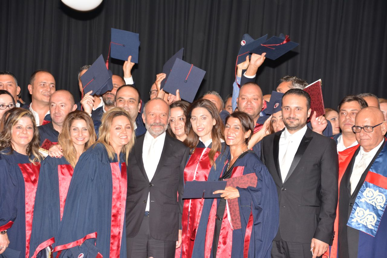 Near East University realized the graduation ceremony which it could not realize 21 years ago, in 1995