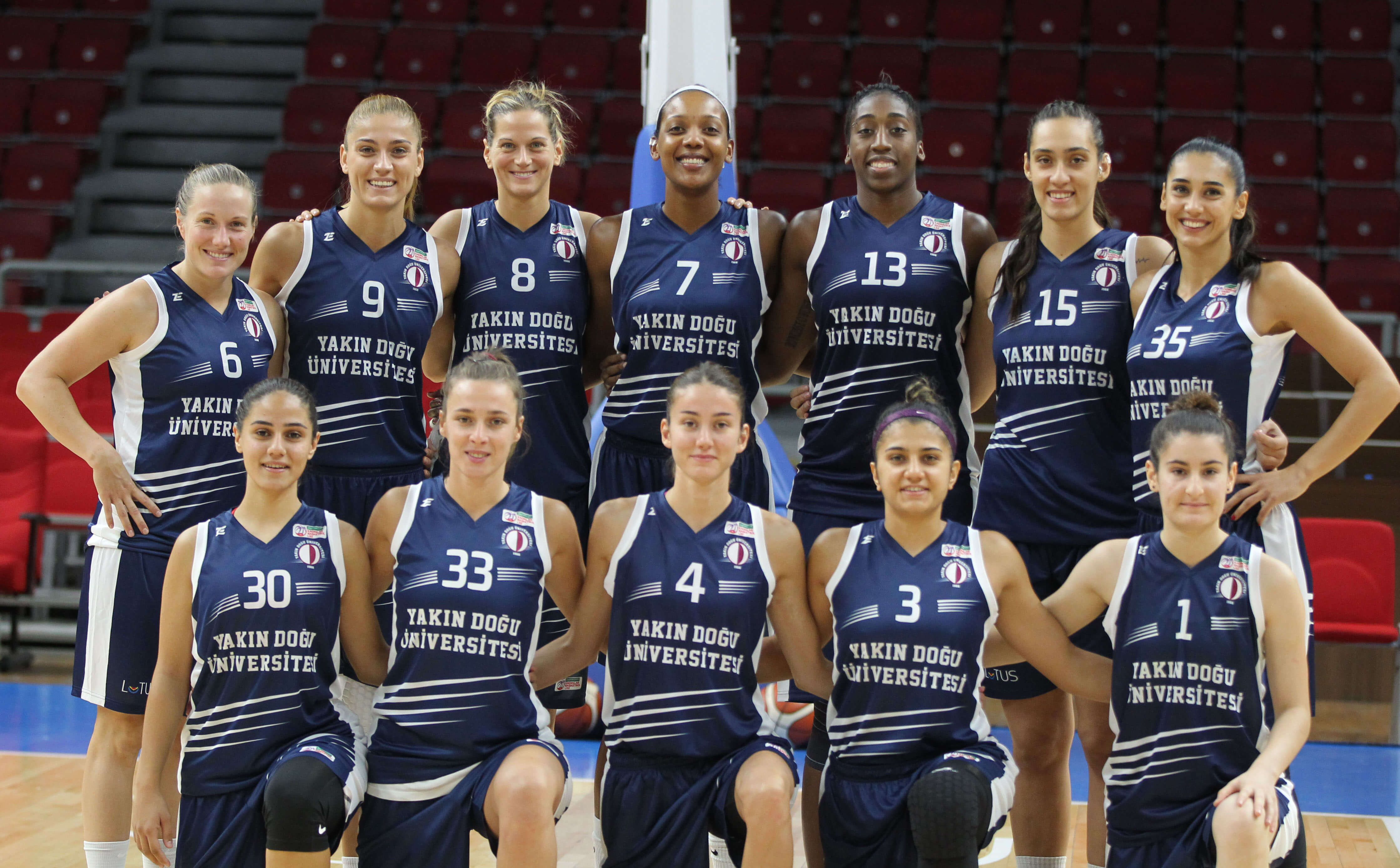 Europe Near East University Women's Basketball Team is ready for its Europe Excitement