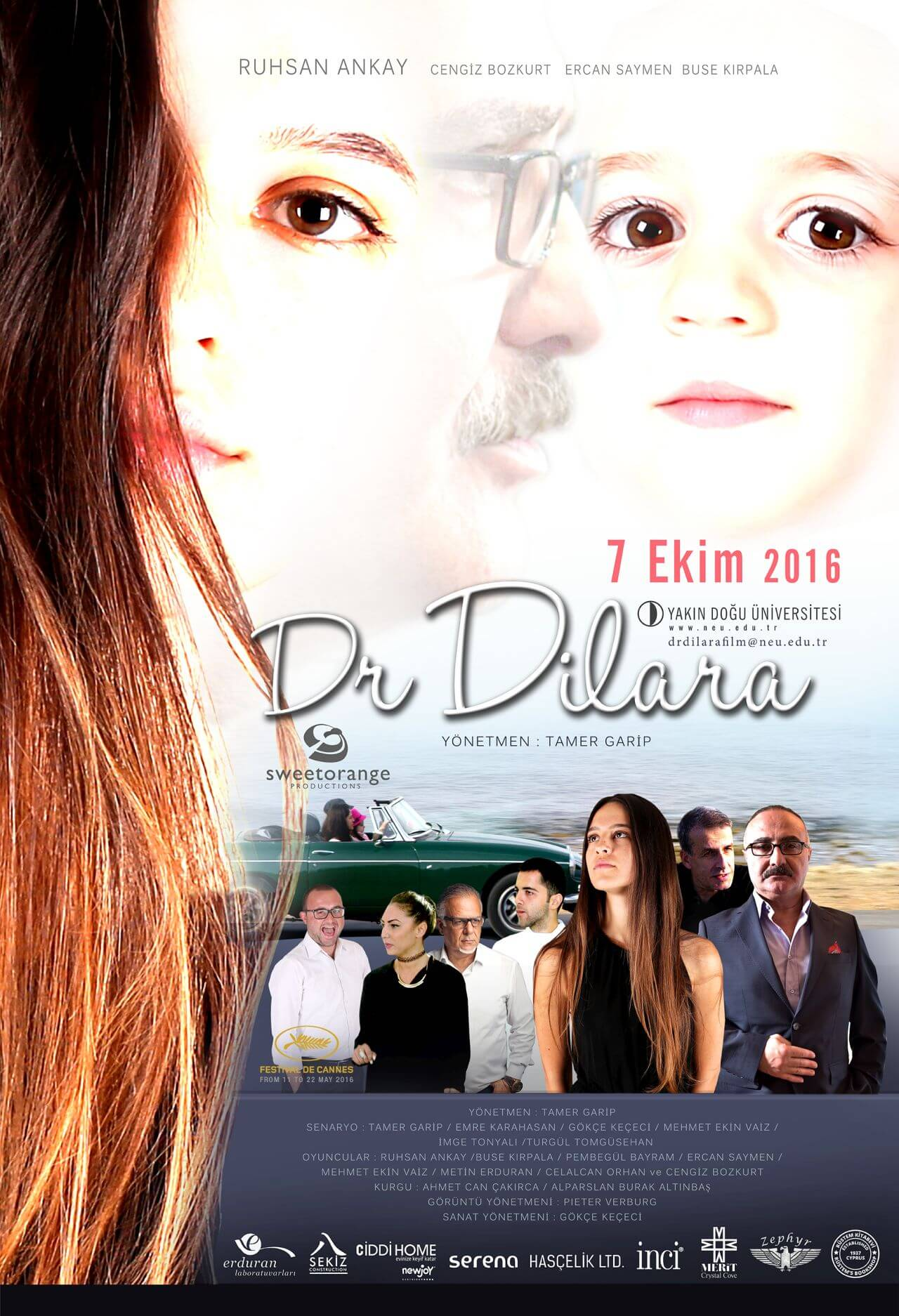"The cinema movie ""Dr. Dilara"", which is the project of the Near East University Faculty of Communication, is coming out"