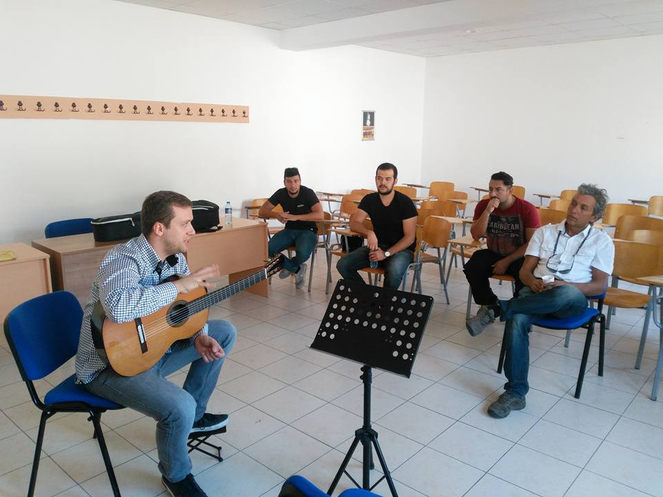Near East University has hosted world renowned guitarist Sanel Redzic