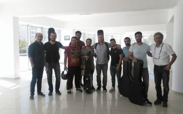 Yakın Doğu Üniversitesi Dünyaca Ünlü Gitarist Sanel REDZIC'i Konuk EttiYakın Doğu Üniversitesi Dünyaca Ünlü Gitarist Sanel REDZIC'i Konuk Etti