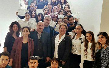 Yakın Doğu Üniversitesi Resim-İş Öğretmenliği Anabilim Dalı Ödül IŞITMAN ile Sanat Eğitimi Seminerini Tamamladı