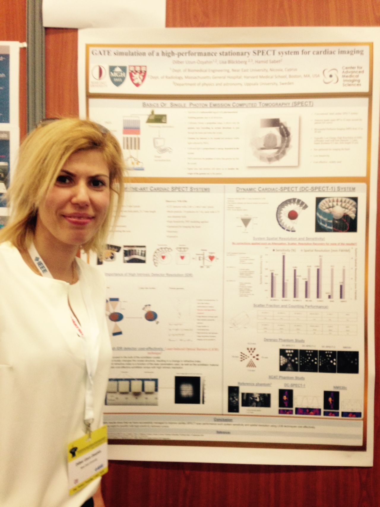 Near East University was represented at the world's largest Nuclear Science Symposium and Medical Imaging Conference that held in France