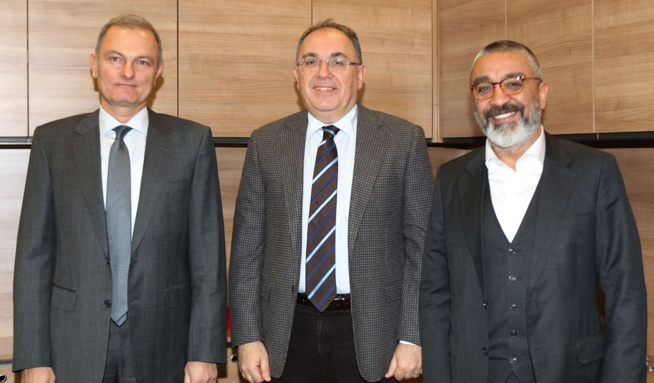 Courtesy Visit from Near East University to TBF Chairman Türkoğlu and General Secretary Özerhun