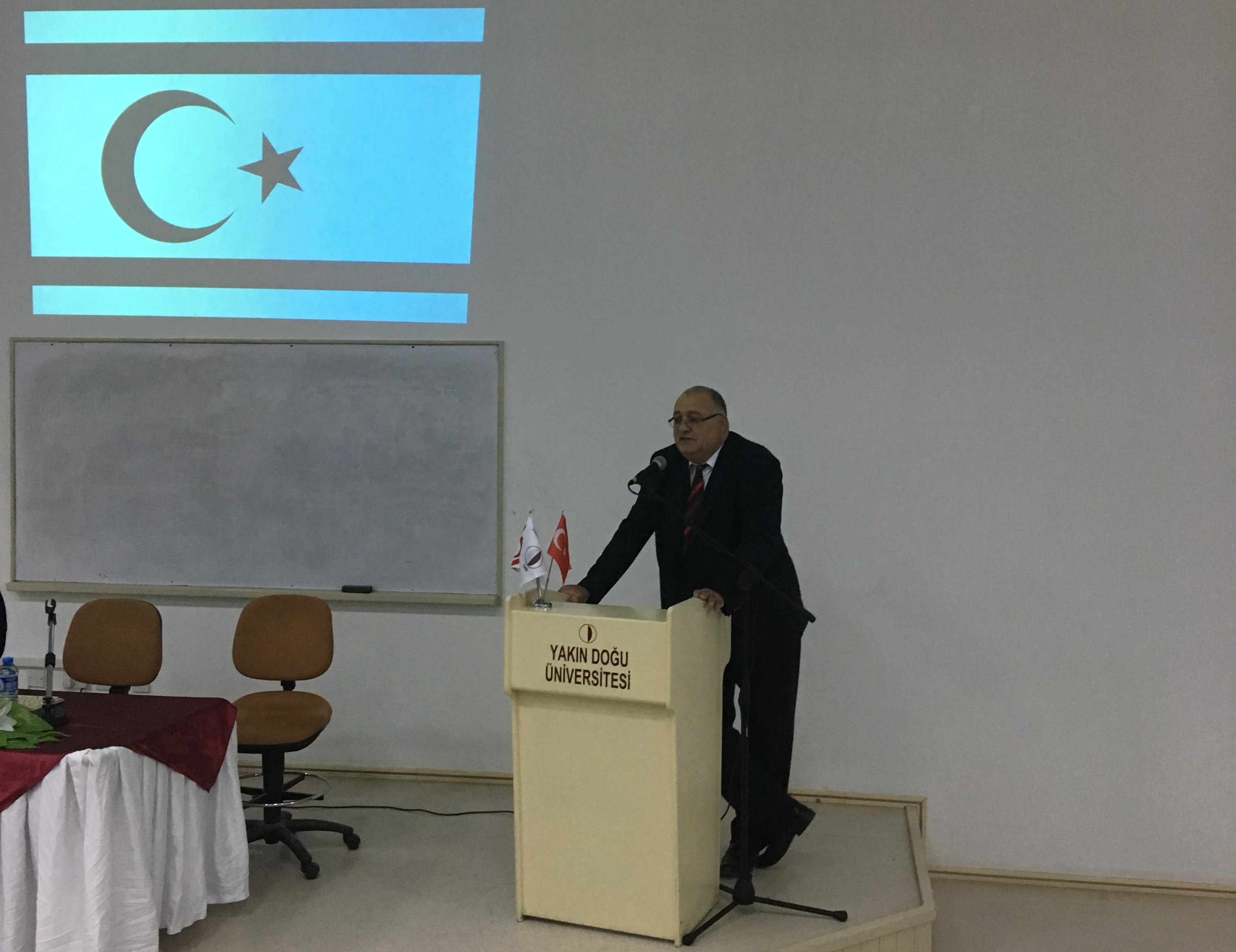 NEU Faculty of Arts and Sciences along with Atatürk Faculty of Education celebrated TRNC Republic Day with a panel