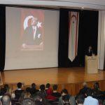 YDÜ Atatürk Eğitim Fakültesi ve Fen-Edebiyat Fakültesi Büyük Önder Mustafa Kemal Atatürk`ü Anma Töreni Düzenledi