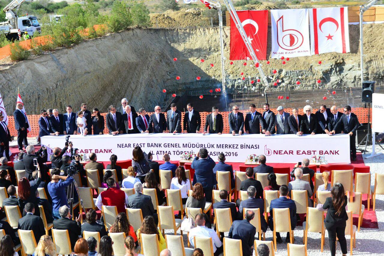 Groundbreaking Ceremony of the General Directorate Building of Near East Bank was realised