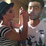 YDÜ Saç Bakımı ve Güzellik Hizmetleri Bölüm Öğrencileri Cadılar Bayramında Hünerlerini Sergilediler
