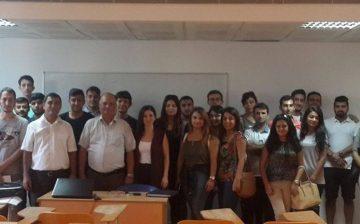Yakın Doğu Üniversitesi'nde Öğretmen Adayları Ve Matematik Severlere Seminerler Verildi