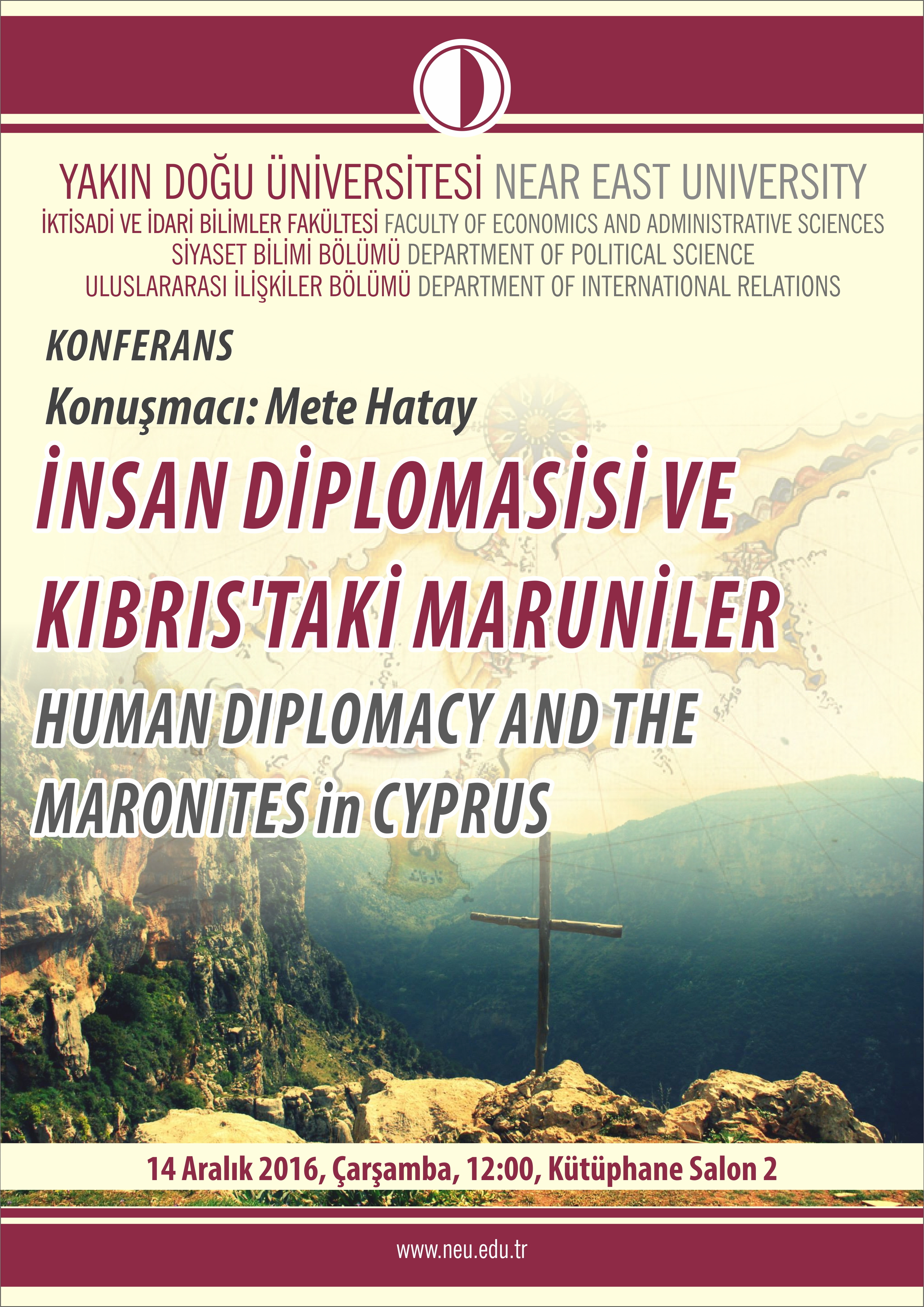 "Conference: ""Human Diplomacy and the Maronites in Cyprus"""