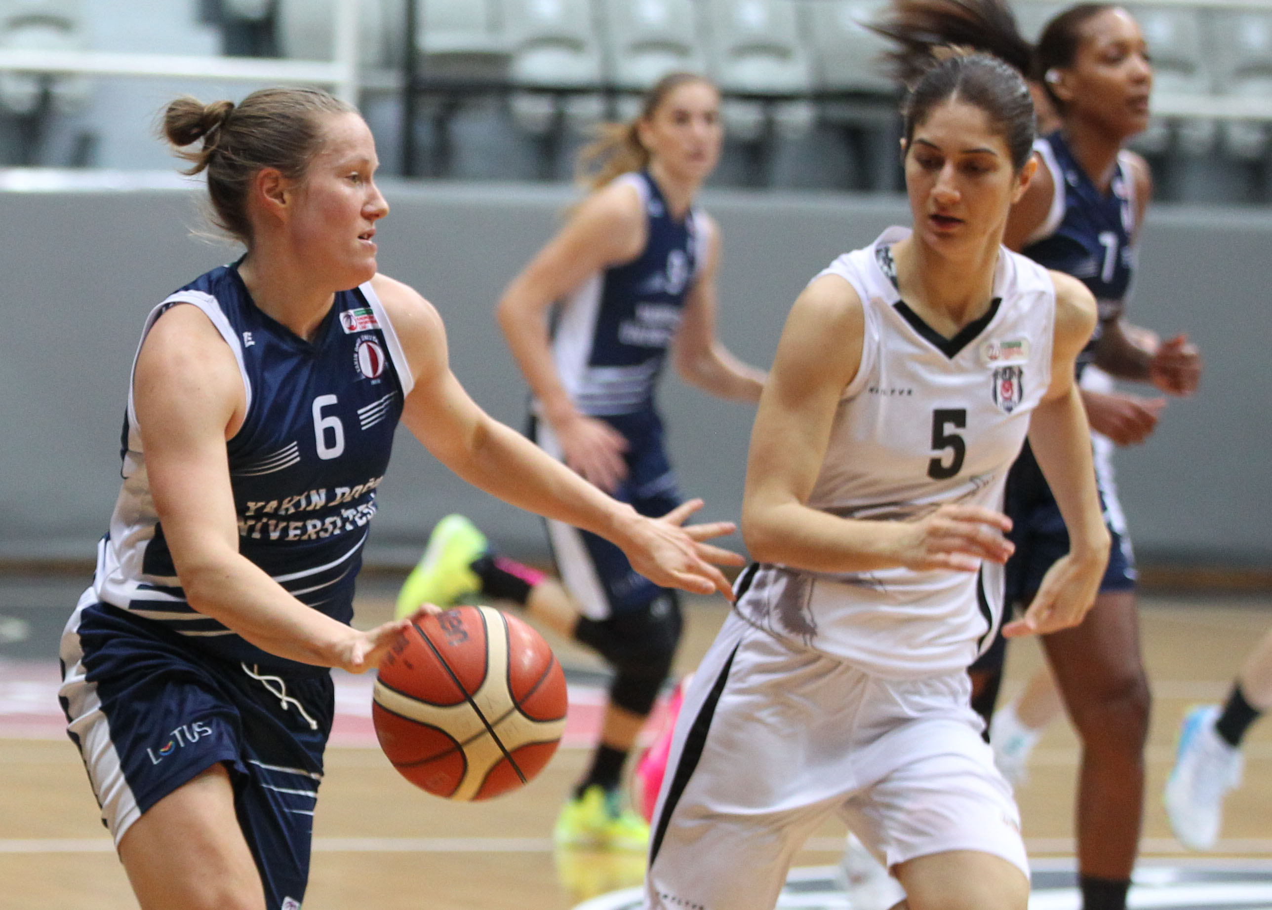 Near East University made a four-game winning streak… Beşiktaş: 67 – Near East University: 73