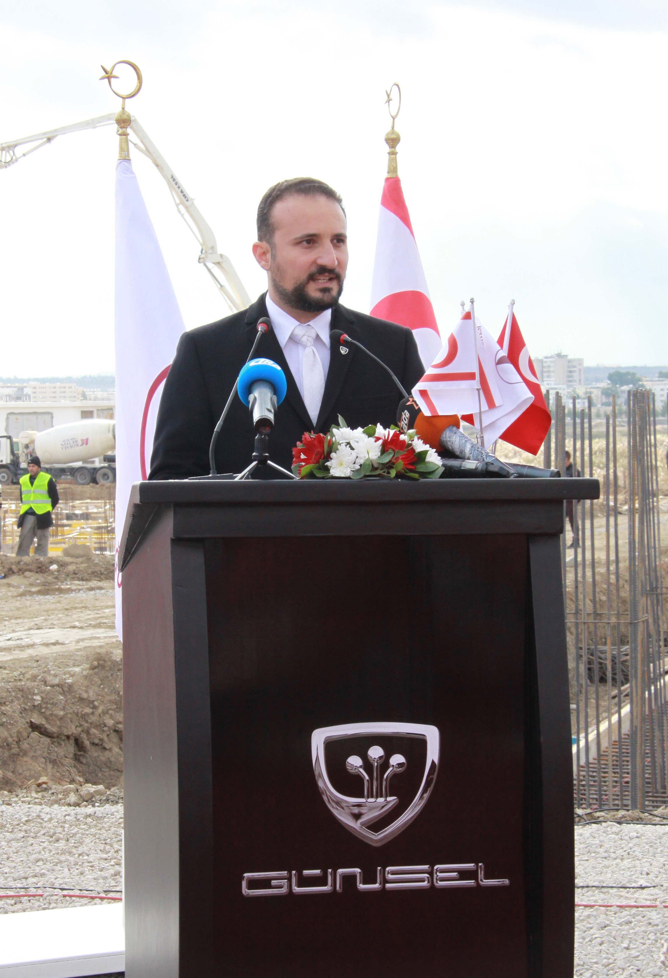 TRNC's Pride Day…. The foundations of the manufacturing facilities to produce GÜNSEL, our country's first domestic automobile, were laid