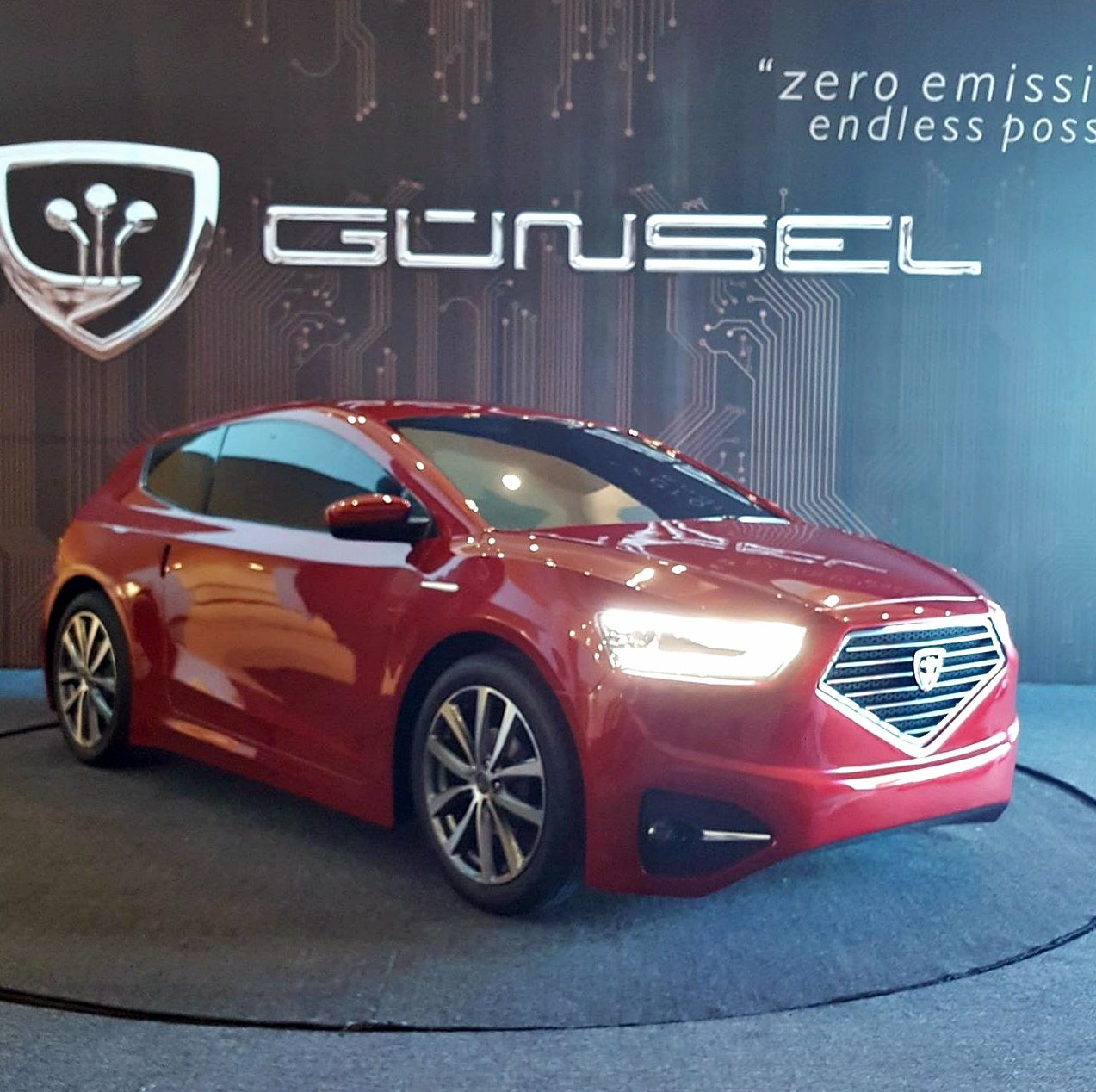 World Otomotive Conference was realized under the sponsorship of the domestic car GÜNSEL