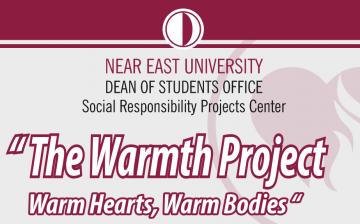 """YDÜ Öğrenci Dekanlığı, Sosyal Sorumluluk Projeleri Merkezi: """"Sıcak Kalpler, Üşümeyen Bedenler Projesi"""""""