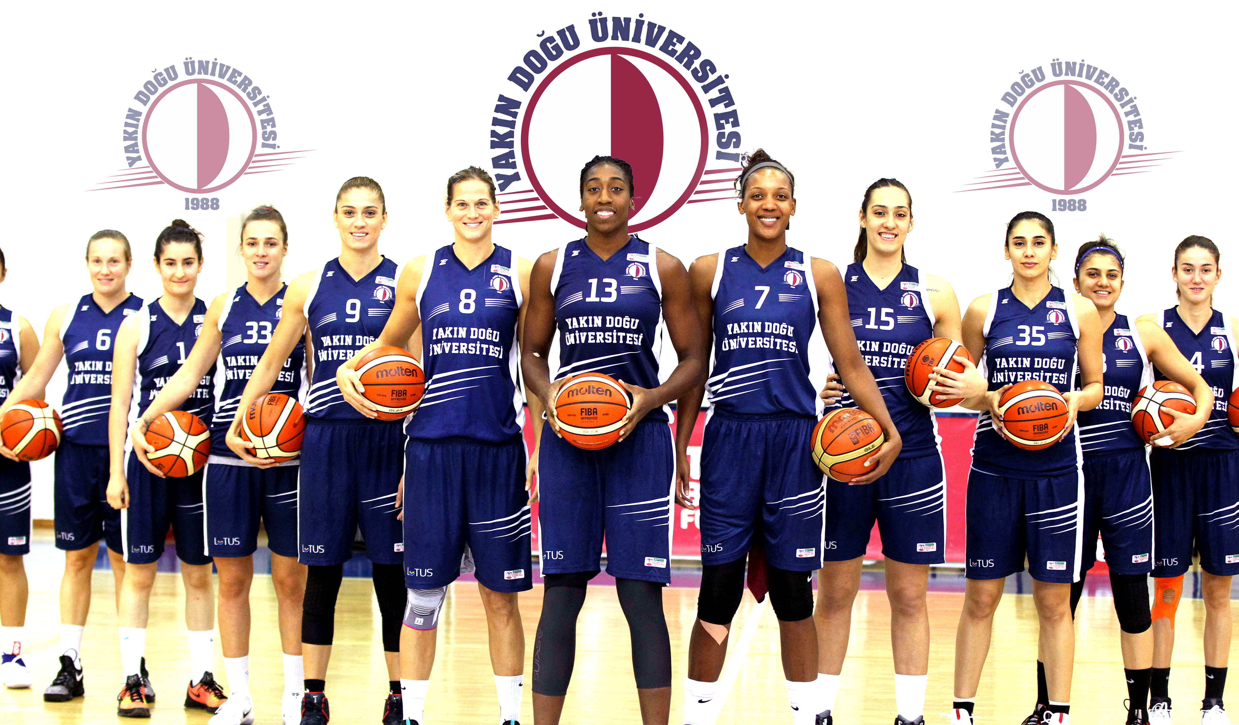 Near East University Women's Basketball Team ranks second in EuroCup Top 16