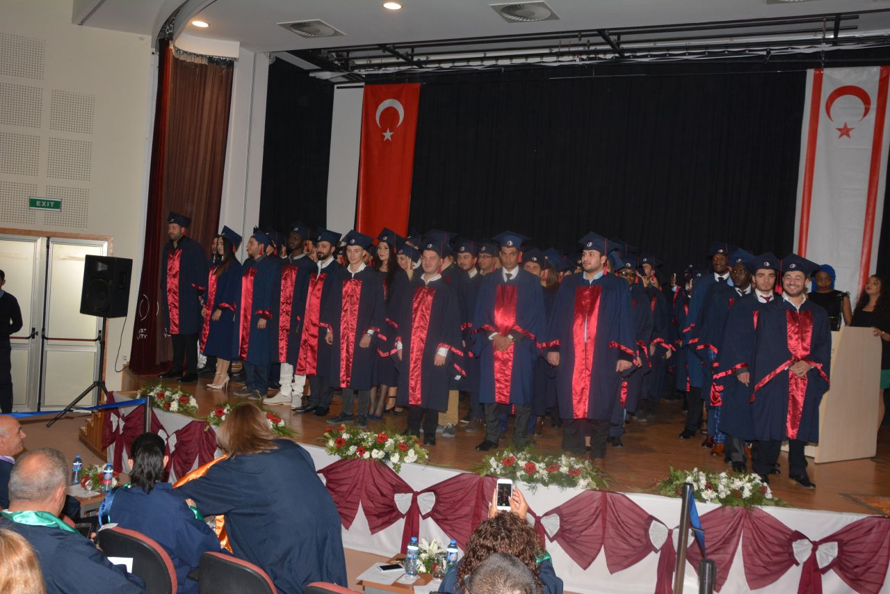 Near East University Faculty of Economics and Administrative Sciences Graduation Ceremony intensively participated