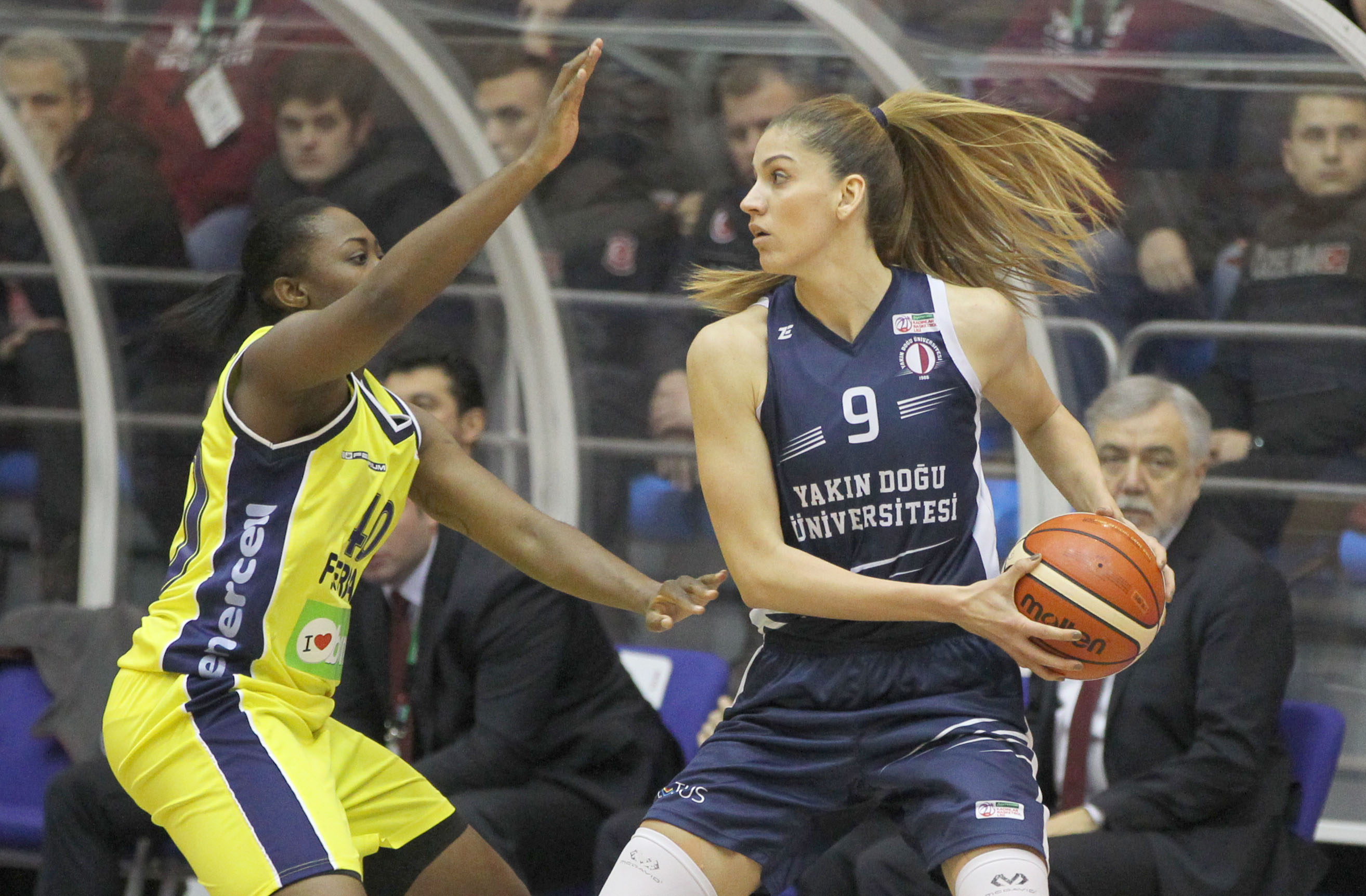 Near East University has left it to the final match … Fenerbahçe: 76 – Near East University: 64
