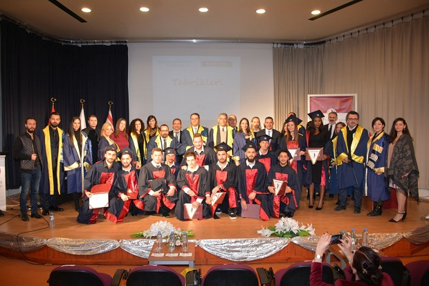 New Generation Communicators of Near East University received their Diplomas
