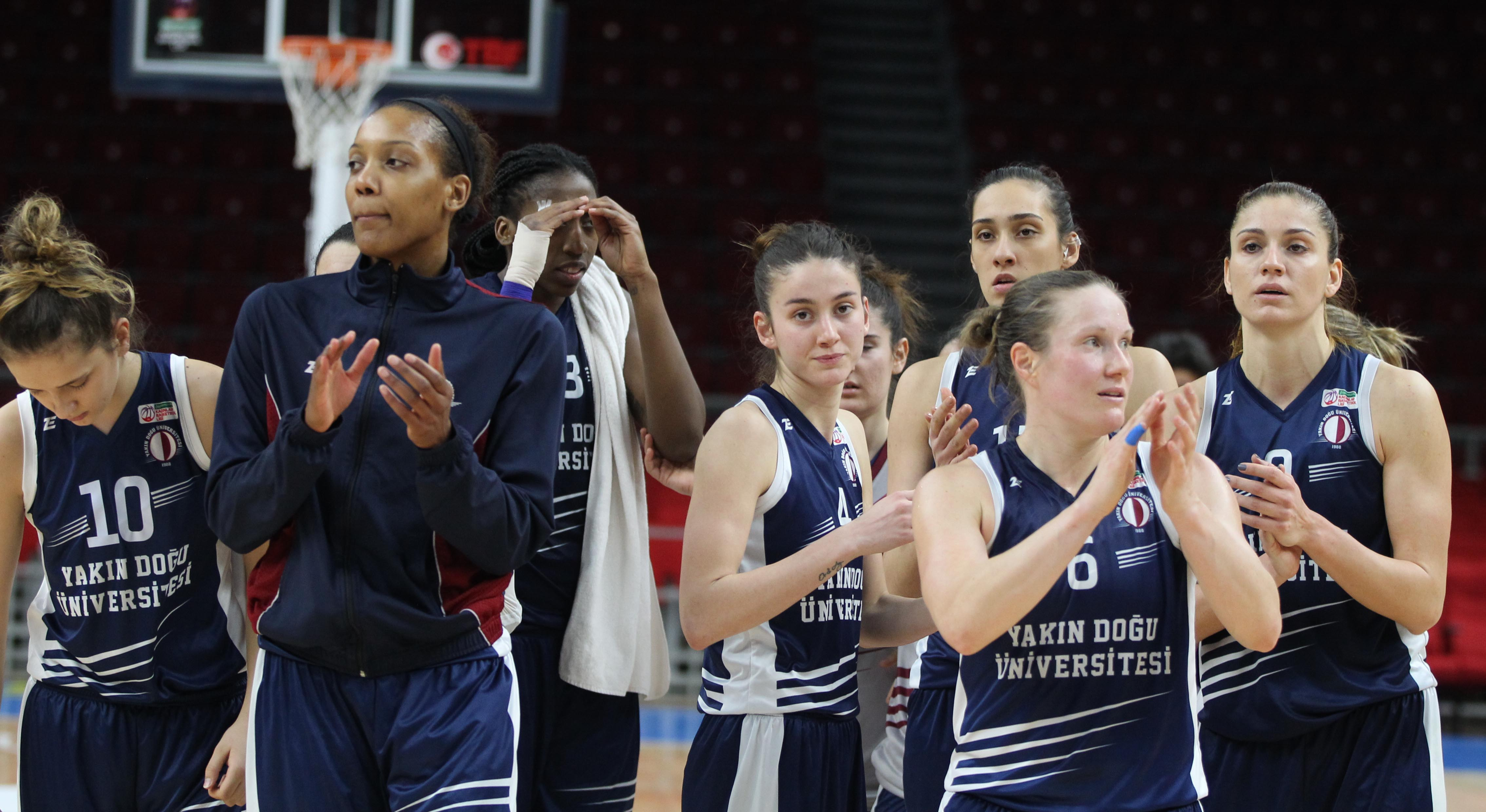 Near East University Women's Basketball Team On Top In Turkey And In Quarter Final In Europe
