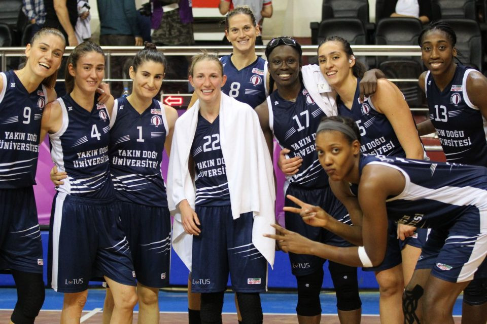 Near East University paired with ESBVA Lille for the FIBA EuroCup Quarter – Final
