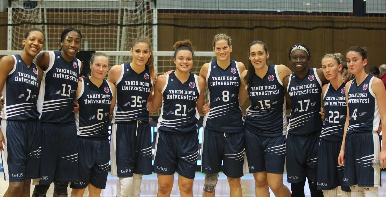 Italian Team Reyer Venezia pairs with the Near East University in the EuroCup Women Round of 8