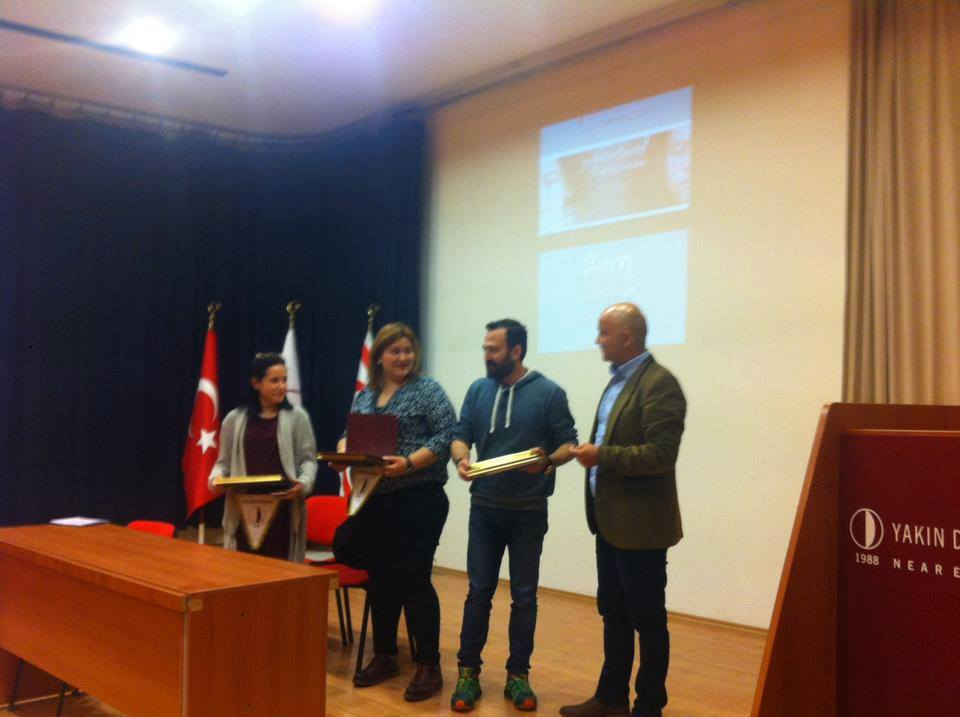 "A film titled as ""Yağmurlarda Yıkansam"" was projected by the Department of Radio, Television and Cinema of Faculty of Communication of Near East University"