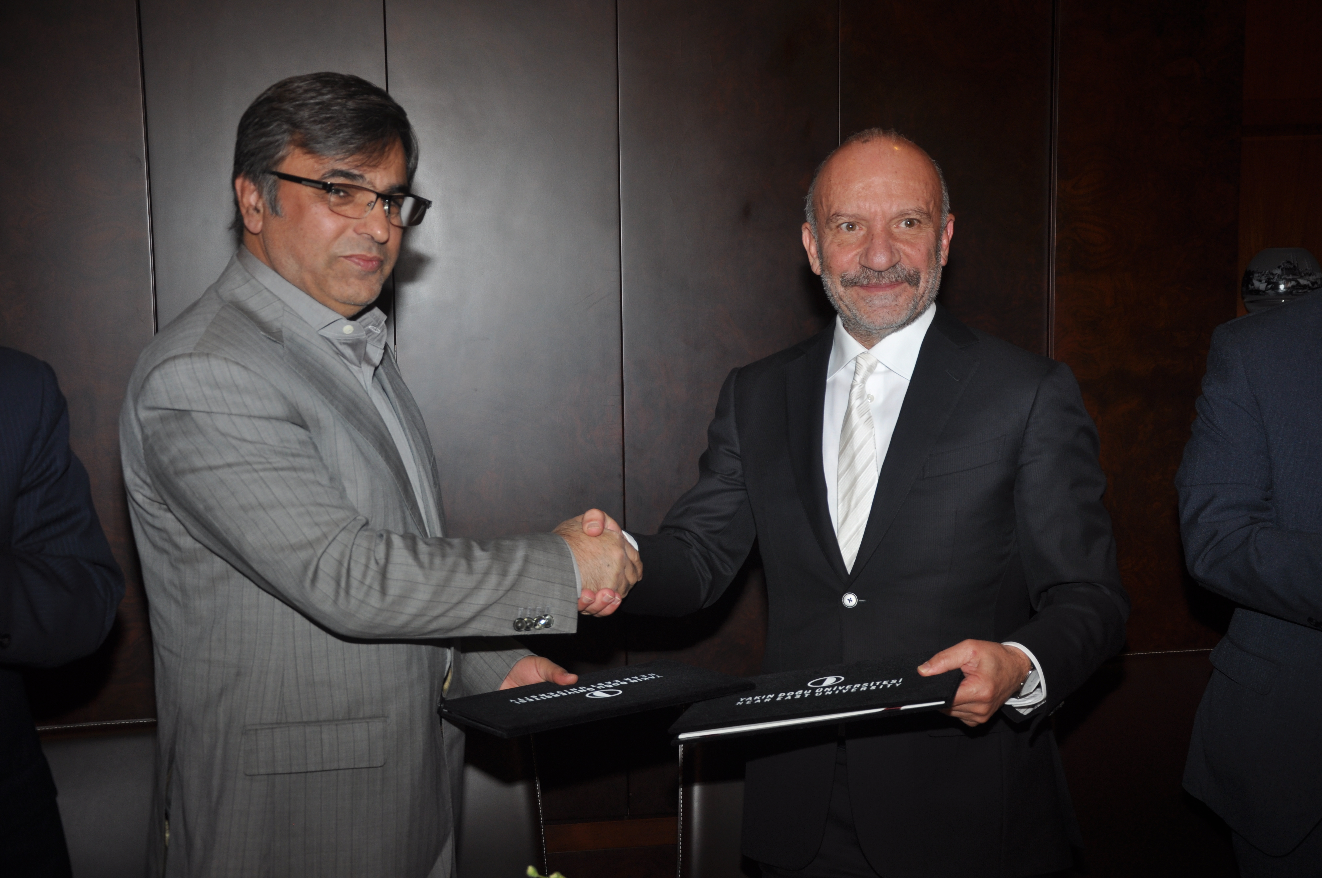 Agreement on Conducting Joint Degree Program Between NEU and Alborz University of Medical Sciences