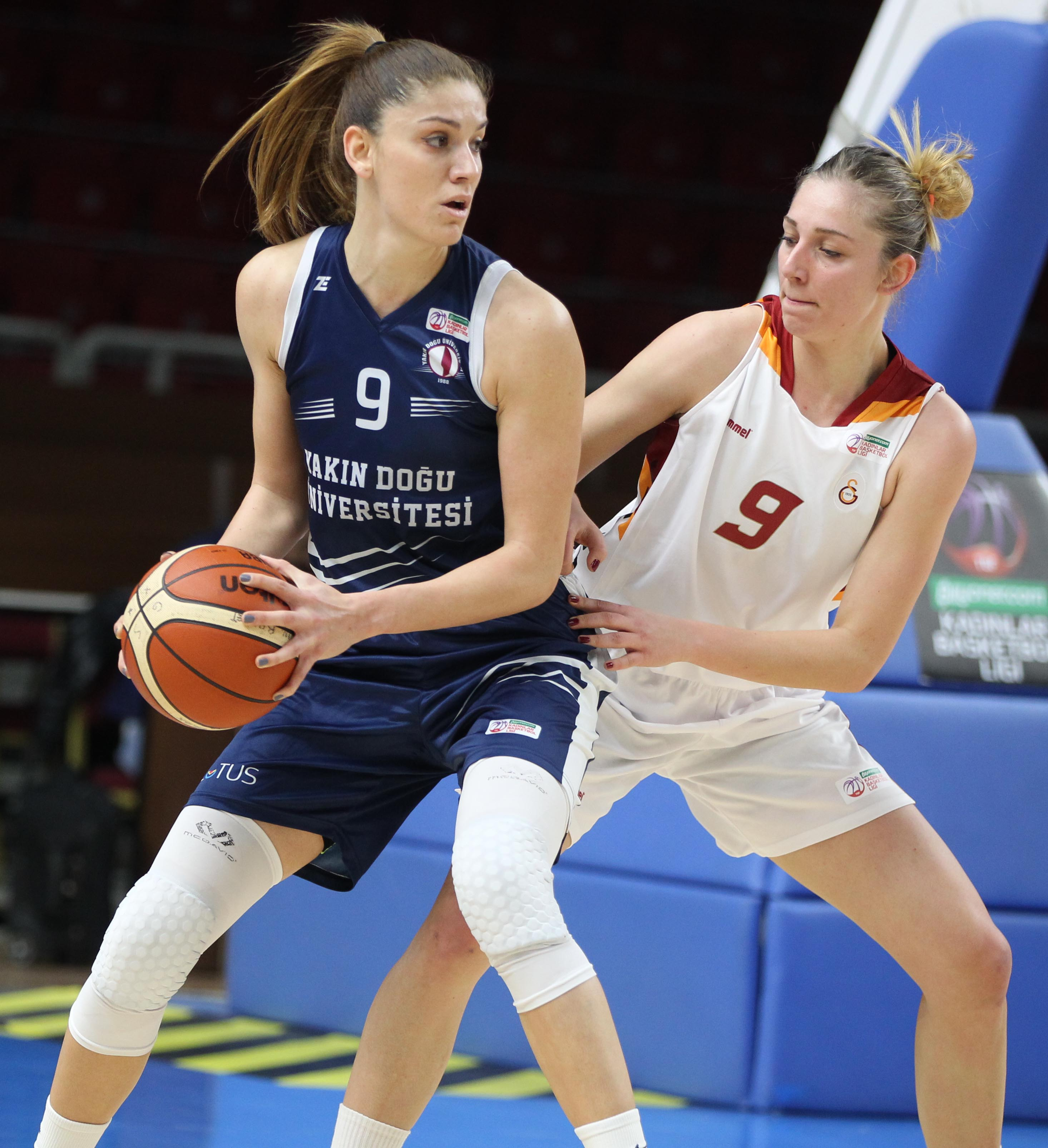 Competition for FIBA EuroCup Women Final…Near East University versus Galatasaray