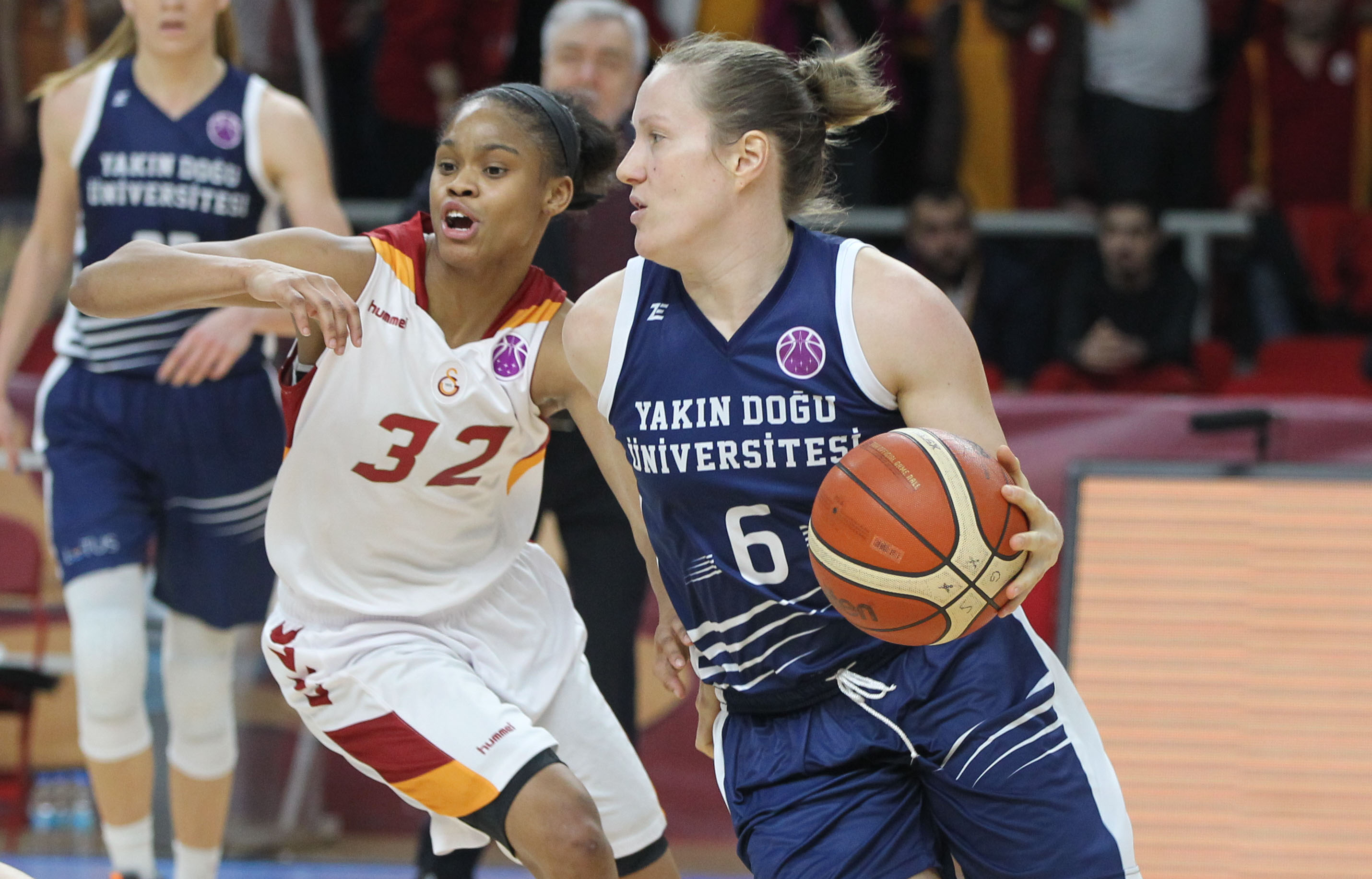 First Step to Eurocup Final… Galatasaray: 81- Near East University: 87