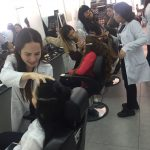 YDÜ İletişim Fakültesi Saç Bakımı ve Güzellik Hizmetleri Öğrencilerinden 8 Mart Dünya Emekçi Kadınlar Gününe Özel Etkinlik