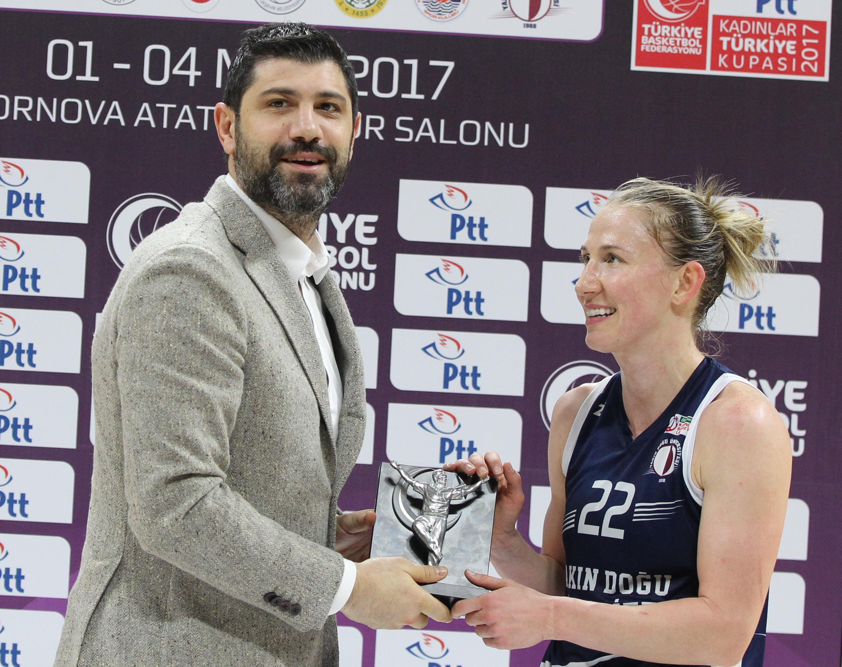 Near East University defeated Beşiktaş and advanced to the Turkey Cup Final Beşiktaş: 66 – Near East University: 75