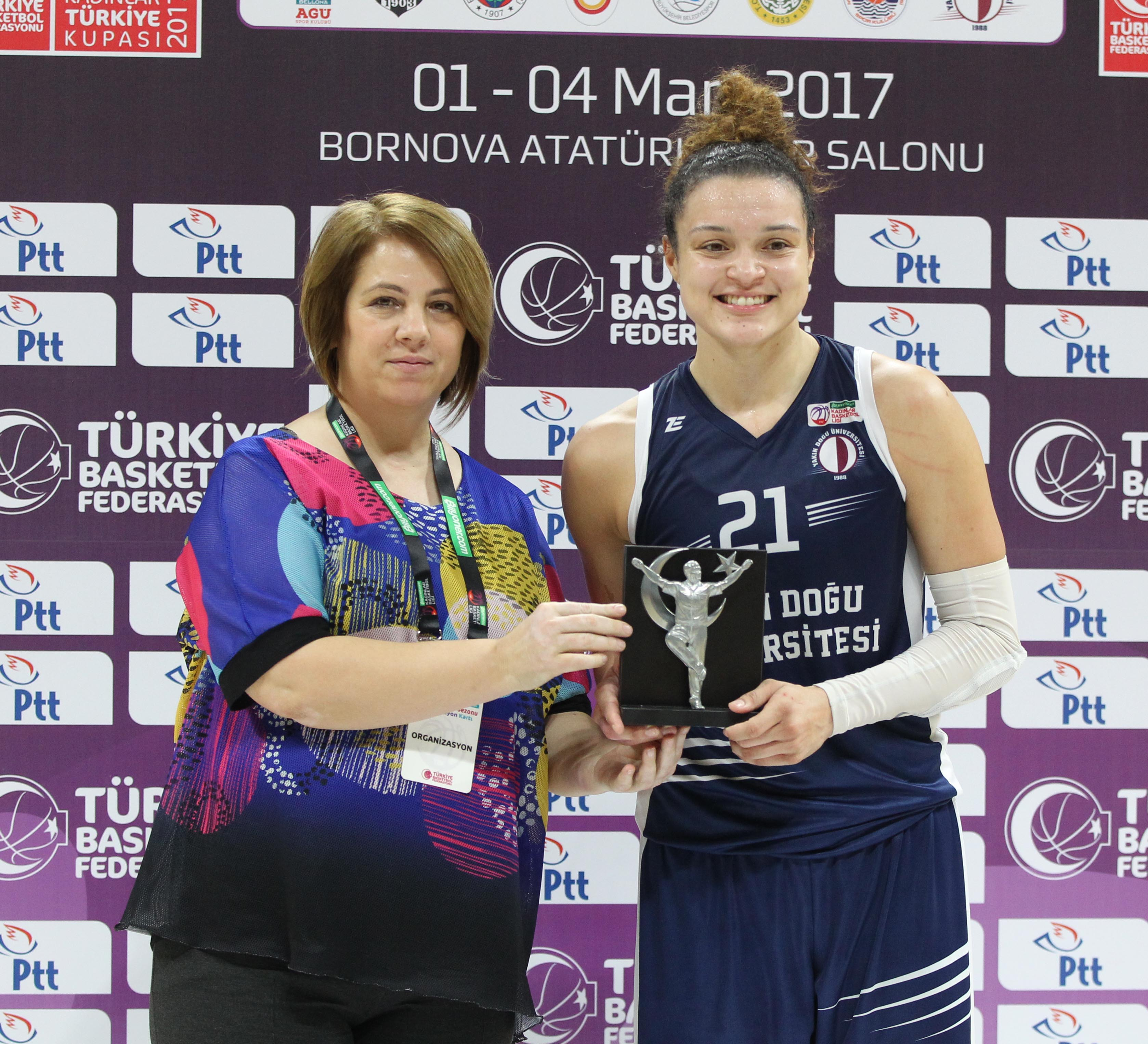 By defeating Galatasaray with a net score of 78 -62, Near East University is facing Besiktaş for Women's Turkey Cup Semi – Final