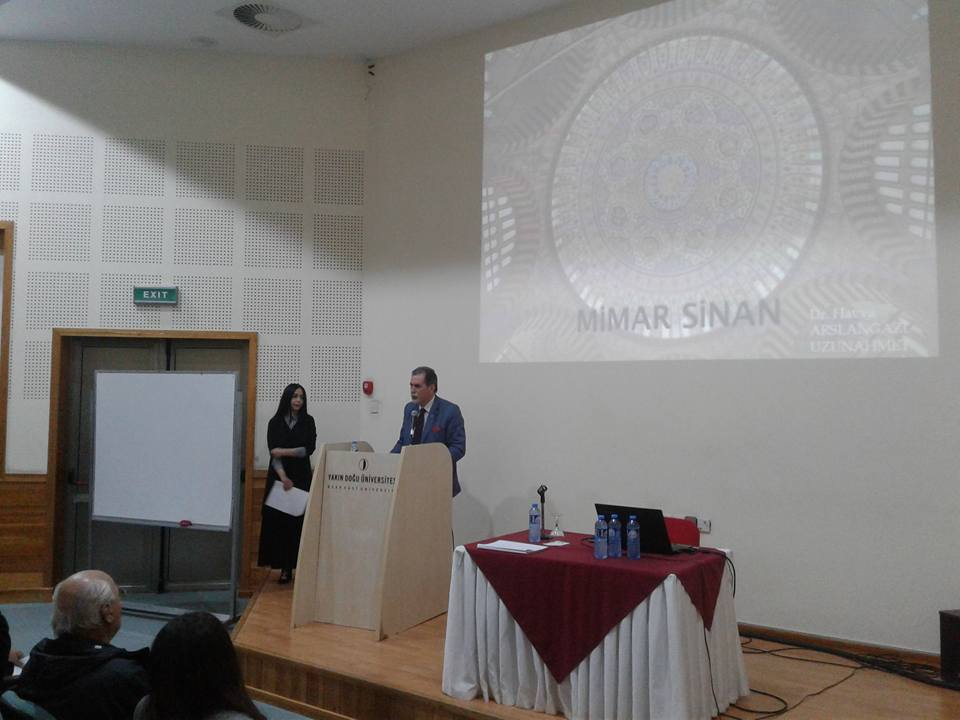 Near East University Faculty of Architecture commemorated 25th Foundation Year with Event Dedicated to Architect Sinan