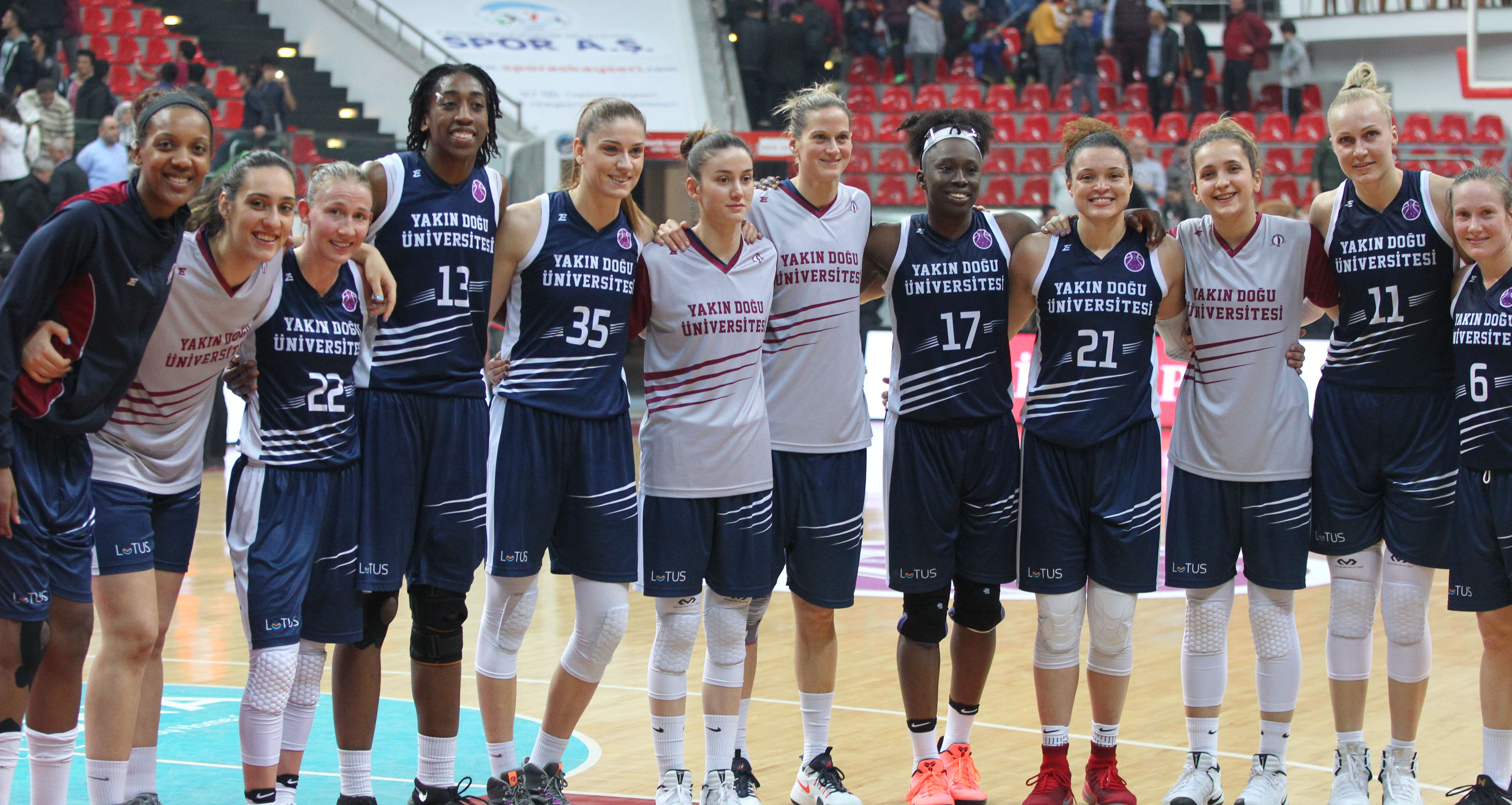 Historical Final in EuroCup … Near East University – Bellona AGU