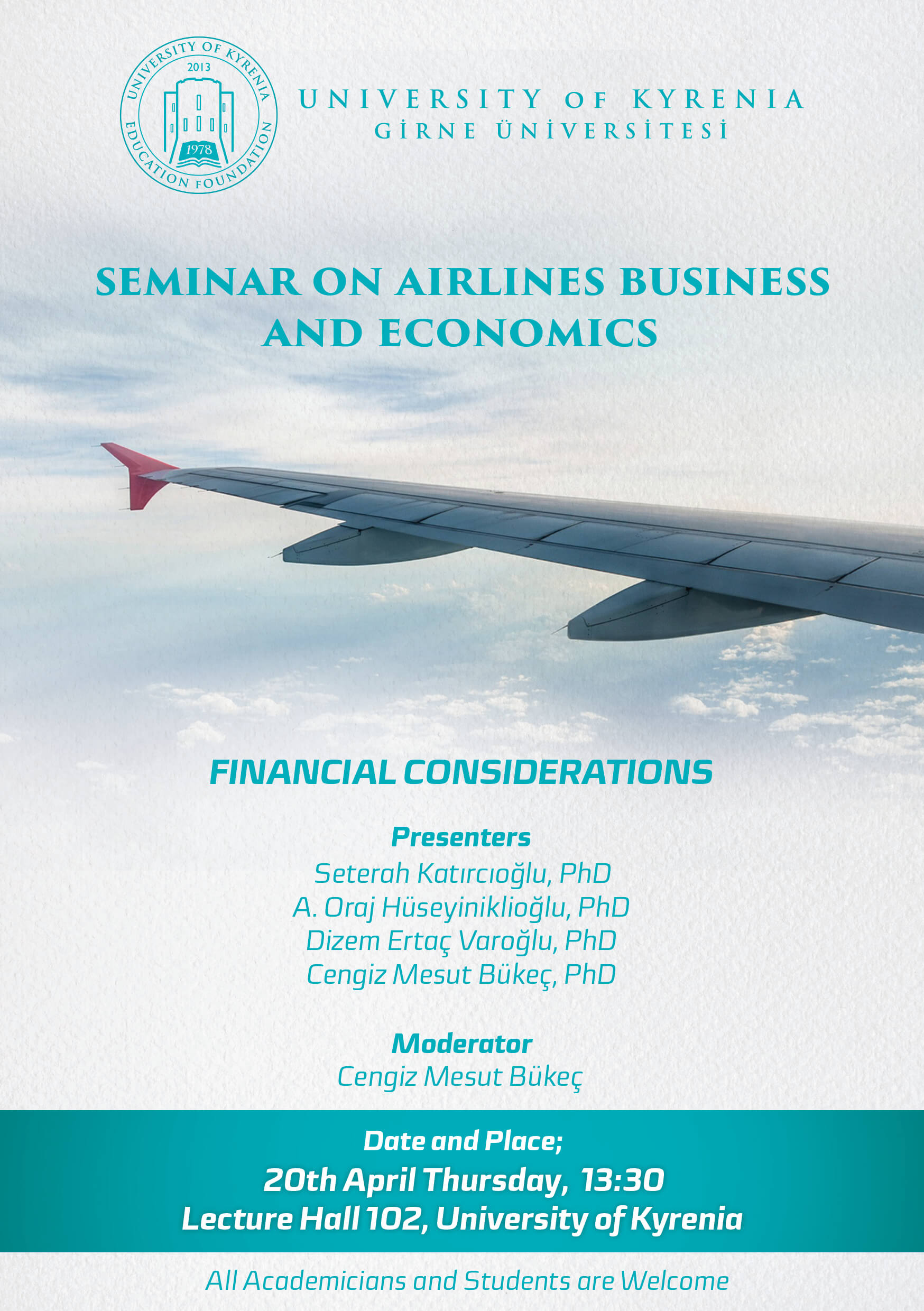 Seminar on Airlines Business and Economics